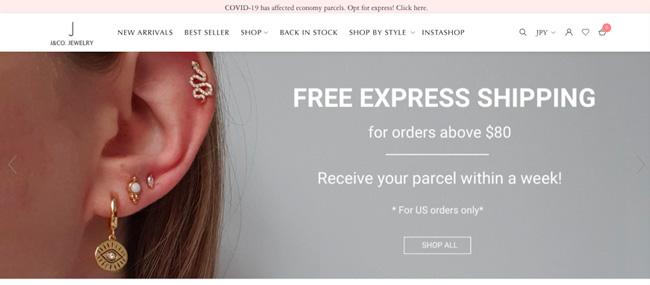 J&Co Jewellery